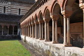 Architecture of Church San Zeno Verona — Stock Photo