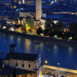 Verona at night — Stock Photo