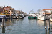 Chioggia, a fishing town on the italian Mediterranean sea — Foto Stock