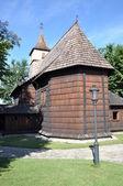 Wooden church — Stockfoto