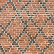 Brick wall with diagonal pattern — Stock Photo #29435563