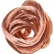 Copper wire — Foto Stock