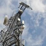 Telecommunication tower — Stock Photo #32476271