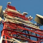 Telecommunication tower — Stock Photo #32661103