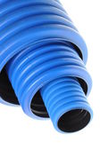 Corrugated pipe — Stock Photo