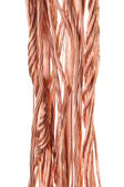 Copper wire for the power industry — Стоковое фото
