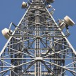 Tower of communication with antennas — Foto Stock #36313815