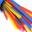Heat shrink tubing components for cables isolation — Stock Photo #36574145