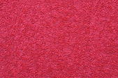 Red towel close up — Stock Photo