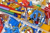 Componente elétrico — Foto Stock