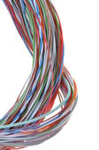 Colored cable — Stock Photo