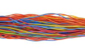 Bunch of cables — Stock Photo