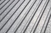 Corrugated sheet geometric pattern — Stock Photo