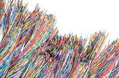 Colored cables — Stock Photo