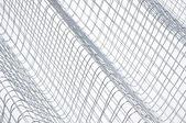 Steel wire grid — Stock Photo