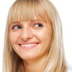 Beautiful young woman smiling — Stock Photo #12082144