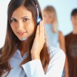 Call center exploitant — Stockfoto