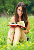Bookreader — Stock Photo