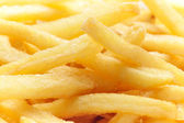 French fries background — Stock Photo