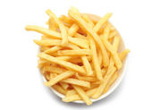 Bowl of french fries — Stock Photo