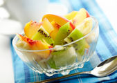 Exotic fruit salad — Stock Photo