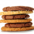 Royalty-Free Stock Photo: Oat cookies and Chocolate cookies