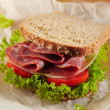 Fresh deli sandwich — Stock Photo