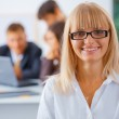 Smiling business woman — Stock Photo #5482516