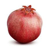 Pomegranate isolated on a white background — Stock Photo