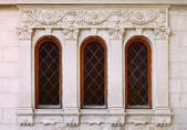 Window of old buildings — Stock Photo