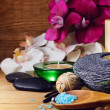 Stock Photo: Spand wellness setting