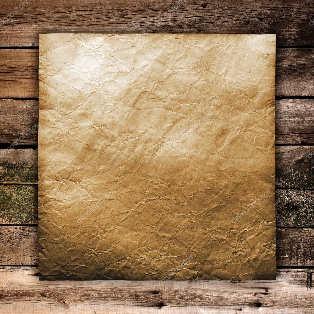 Old paper on wood texture with natural patterns — Stock Photo © korovin #22157043