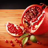 Delicious pomegranate — Stock Photo