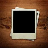 Photo frames pinned — Stock Photo