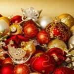 Christmas balls background — Stock Photo #35470073