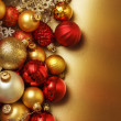 Christmas ball background — Stock Photo #35470139