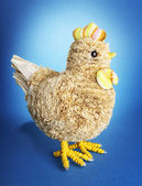 Handmade chicken — Stock Photo