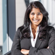 Asian Indian businesswoman — Stock Photo