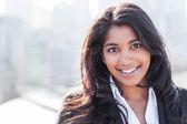 Asian Indian businesswoman — Stock Photo