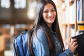 Hispanic college student — Stock Photo