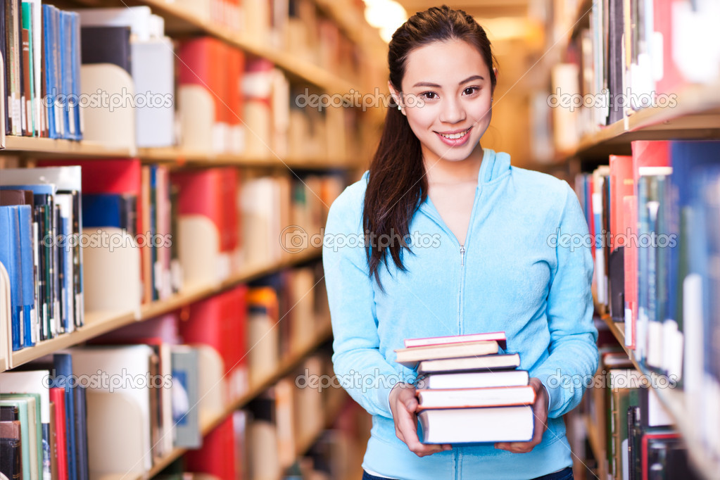 亚洲大学生 — 图库照片