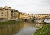 Bridge Ponte Vecchio in Florence, Italy — Stock Photo