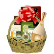 Stock Vector: Gift hamper