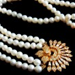 Pearl necklace - Stock Photo