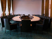 A well equipped conference room — Stock Photo