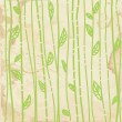 Vector de stock : Leaves graphic seamless pattern on paper