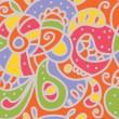 Paisley seamless whimsical pattern — Stockvector #18198561
