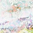 Abstract floral grunge background — Stock Photo