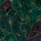 Leaves whimsical background paper texture — Stock Photo