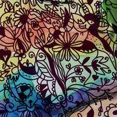 Floral seamless pattern vintage — Stock Photo